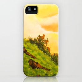 Hill Side Vibe iPhone Case