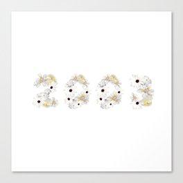 White Flower 2003 Canvas Print
