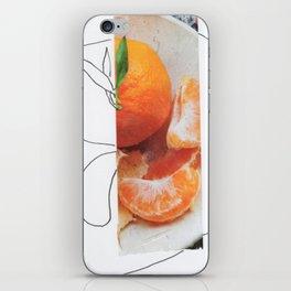Orange you glad iPhone Skin