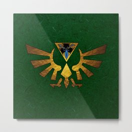 Tri Force of Zelda Metal Print