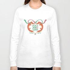 Peace, Joy, Love Long Sleeve T-shirt