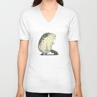 vendetta V-neck T-shirts featuring Creature | Vendetta Ape by ivanfanning