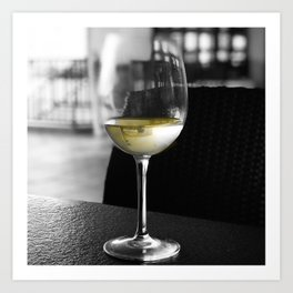 The Lone Companionship of Pinot Noir Art Print