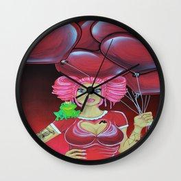 Valentine Vixen, Calendar Collection Wall Clock