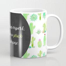 Cactus Watercolor Print Coffee Mug