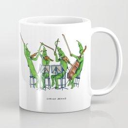 String Beans Coffee Mug