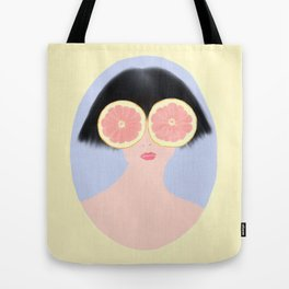 CITRUS & GIRL Tote Bag