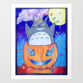 Halloween surprise ^^ Art Print