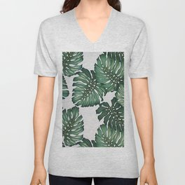 Palm's Away Unisex V-Neck