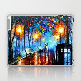STARRY NIGHT TARDIS Laptop & iPad Skin
