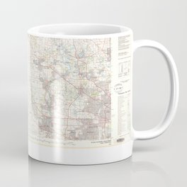 IL Elgin 468435 1981 topographic map Coffee Mug