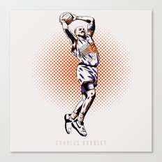 Charles Barkley Canvas Print