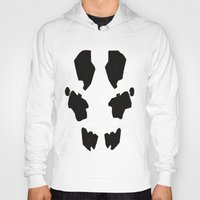 rorschach Hoodies featuring Rorschach by Okes