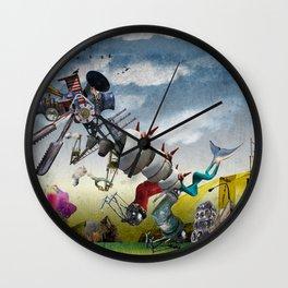 monster II Wall Clock