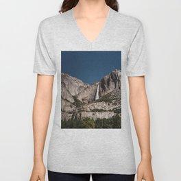 Yosemite Falls VII Unisex V-Neck