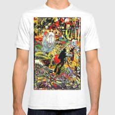 skubaplux Mens Fitted Tee White SMALL