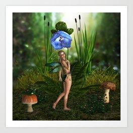 Faerie Shower Art Print