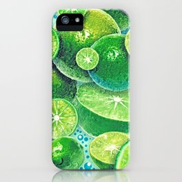 Lime Time iPhone Case