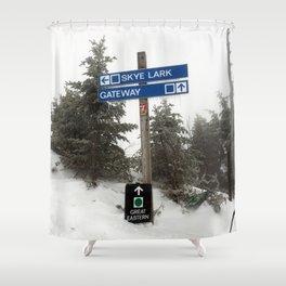 Skye Lark Shower Curtain