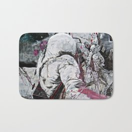 All my friends/Lost on the moon Bath Mat