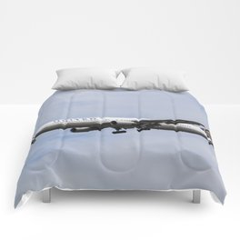 United airlines Boeing 767 Comforters