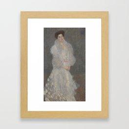 Portrait of Hermine Gallia, Gustav Klimt, 1904 Framed Art Print