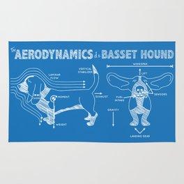 The Aerodynamics of a Basset Hound Rug