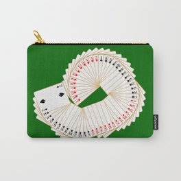 Playing Card Spread Carry-All Pouch