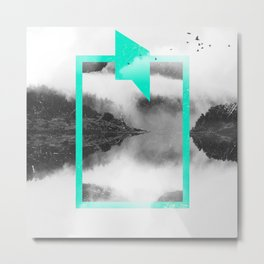 Mirror Metal Print