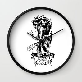 Furious Fury Wall Clock