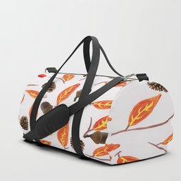 The Leaves Are Falling Duffle Bag