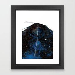 Galaxy Road Framed Art Print