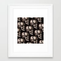broken Framed Art Prints featuring BROKEN by DIVIDUS