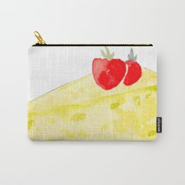 Lemon & Strawberry Cake Carry-All Pouch