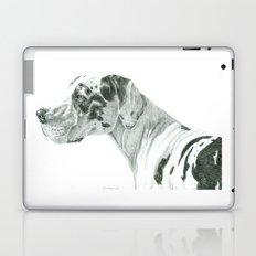 Great dane - harlequin Laptop & iPad Skin
