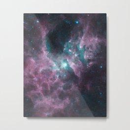 Mysterious Nebula Metal Print