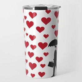 No Love Business Man Travel Mug