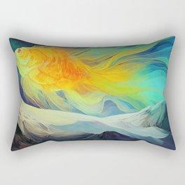 The Fantail Aurora Rectangular Pillow