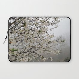 Fog Blossom Laptop Sleeve