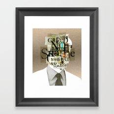 Mankind Motivation 7 Framed Art Print