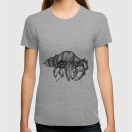 Steampunk angry crab T-shirt