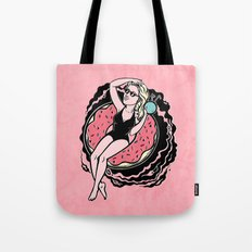 Floating Girl II Tote Bag
