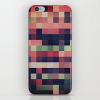 quilt iPhone & iPod Skins featuring quilt n2 by spinL