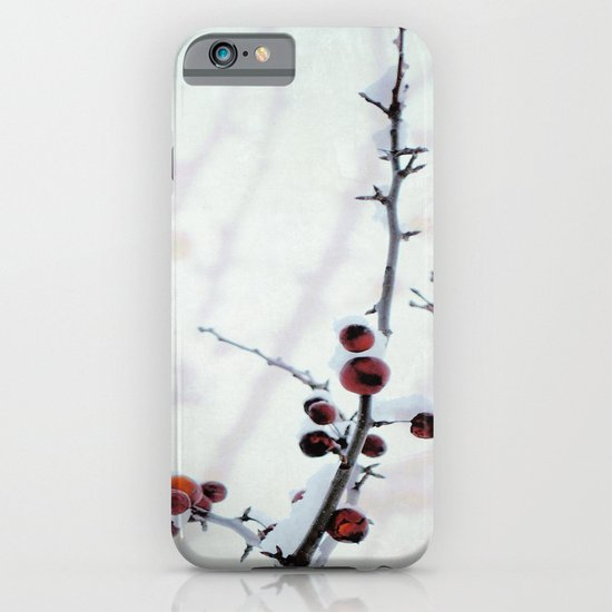 Red Freeze iPhone & iPod Case