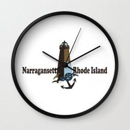 Nantucket Island. Wall Clock