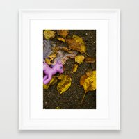 my little pony Framed Art Prints featuring My Little Pony by Neil John Smith