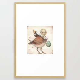A Clever Disguise Framed Art Print