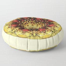 Sacred Geometry Mandalas 4 Floor Pillow