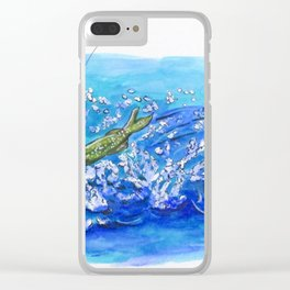 Caught Fish Clear iPhone Case