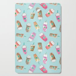 Coffee Crazy Toss in Blueberry Cutting Board